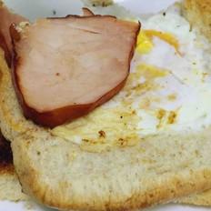 煎蛋全麦吐司