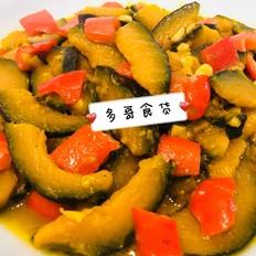 简单美味de清炒贝贝南瓜