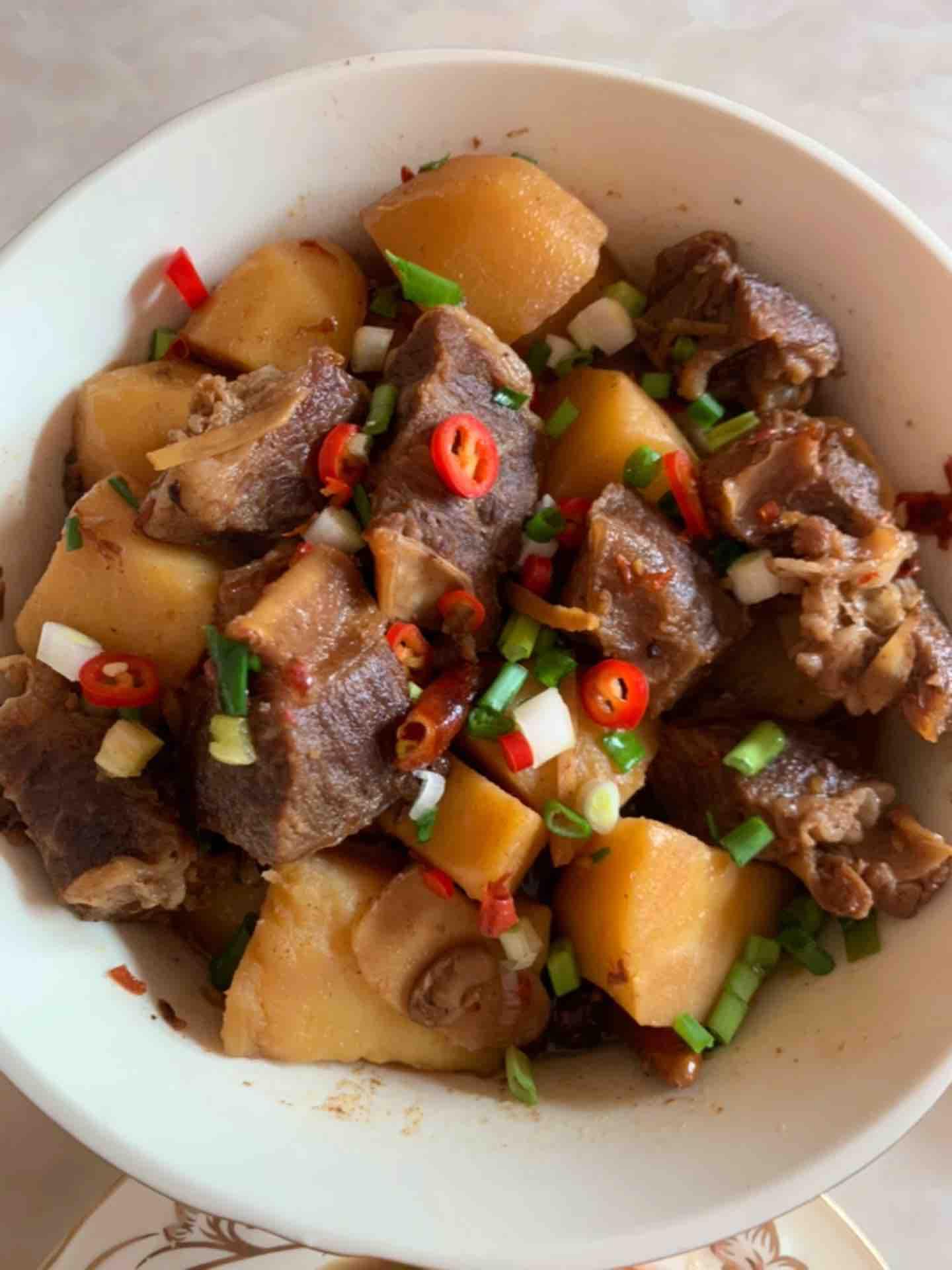 土豆红烧牛肉