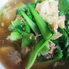 猪脚青菜汤