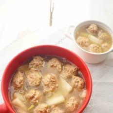 砂锅冬瓜丸子汤