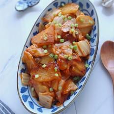 辣白菜炒土豆