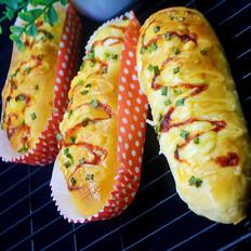 火腿芝士香葱面包