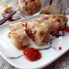 广式腊味萝卜糕