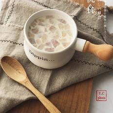 超好喝的鲜芋青稞牛奶自己来做吧