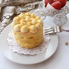 豆浆的华丽变身~日式豆乳蛋糕