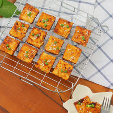 酱烤煎豆腐