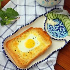 太阳蛋吐司