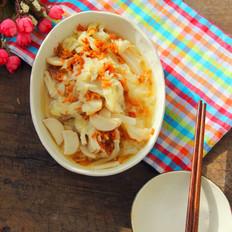 海米杏鲍菇炖白菜