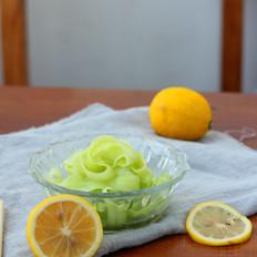柠檬蜂蜜浸黄瓜
