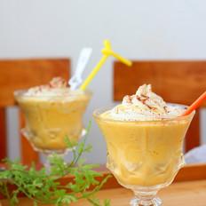 巧克力奶油芒果冰