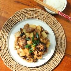 香菇土豆鸡块
