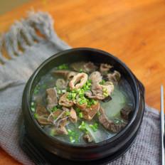 牛杂粉丝汤