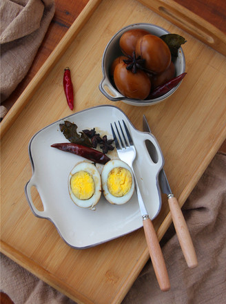 五香卤鸡蛋的做法