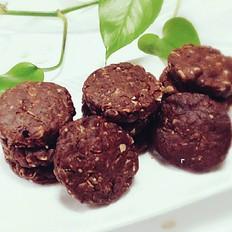 罗汉果糖燕麦巧克力饼