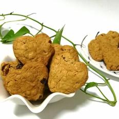 红糖燕麦葡萄饼