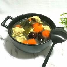 胡萝卜海带排骨汤