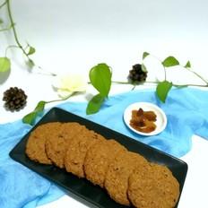 红香妃葡萄干燕麦甜饼