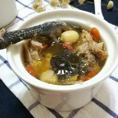 香菇莲子鸡汤