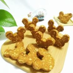 罗汉果卡通燕麦坚果饼的做法