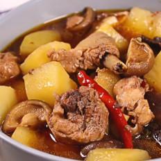 电饭煲黄焖鸡