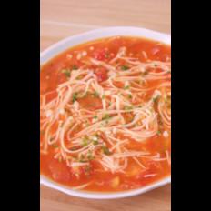 金针菇番茄