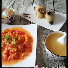 干炒西红柿土鸡蛋