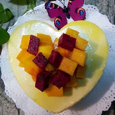 六寸芒果慕斯蛋糕