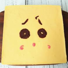 芒果卡通慕斯蛋糕
