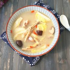 香菇菜心凤爪汤