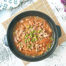 酸辣牛肉汤