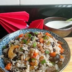 黑小豆焖饭
