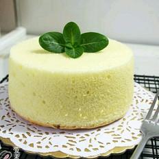 椰浆戚风蛋糕