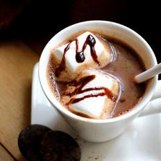豆奶热巧克力