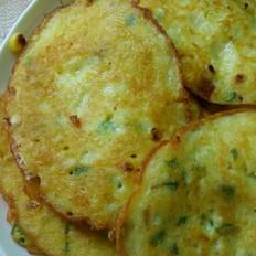 土豆玉米饼