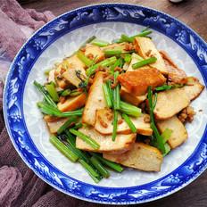 芹菜炒肉末香干