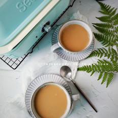 黑糖热奶茶