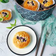 蓝莓爆浆面包