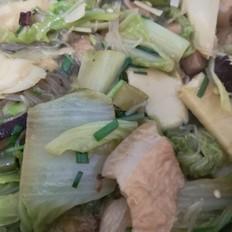 南方版白菜炖粉条