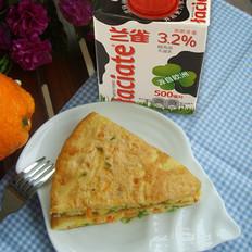 兰雀牛奶▕ 芝士牛奶鸡蛋饼