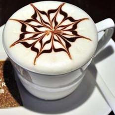 故事开的花|意式拉花摩卡咖啡