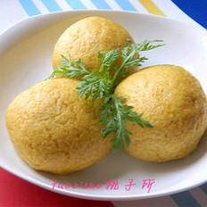 玉米面菜团子