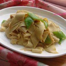 尖椒炒干豆腐