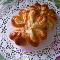 芝士翻花面包