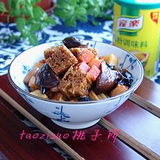 蜜汁什锦烤麸