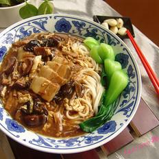 北京肉片打卤面