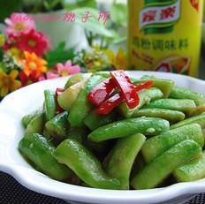红椒炒丝瓜