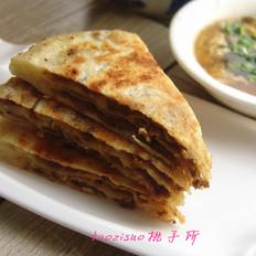 北京千层牛肉饼和酸辣汤