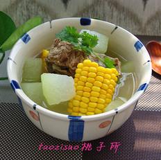 龙骨玉米冬瓜煲