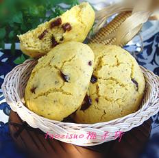 蜜枣豆渣玉米饼